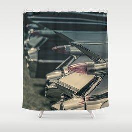 Caddy Fins Shower Curtain