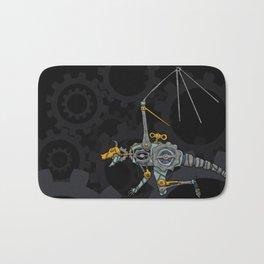 Clockwork Dragon Bath Mat