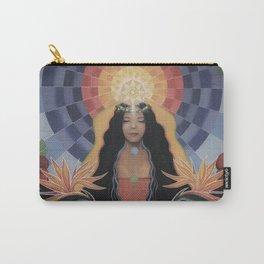 Lightworker // Goddess Woman Feminine Spirit Wemoon Energy Healing Chakra Pele Meditation Carry-All Pouch