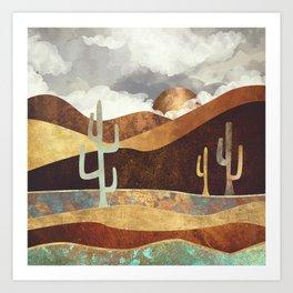Patina Desert Kunstdrucke