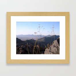 The Long View 2 Framed Art Print