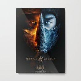 NEW 2021 MortalKombat DECAL Poster Movie Film  Metal Print