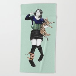 The Great Gaxi Beach Towel
