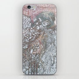 The Winged Octopus Tamer iPhone Skin