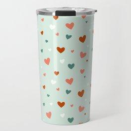 Valentines Hearts Travel Mug