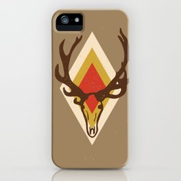 Stag Head iPhone Case