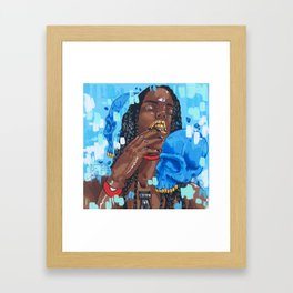 As You Are Framed Art Print