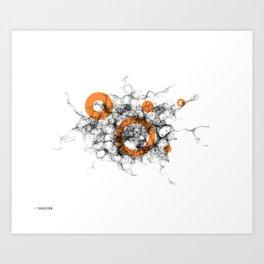 02: Brainstorm Art Print