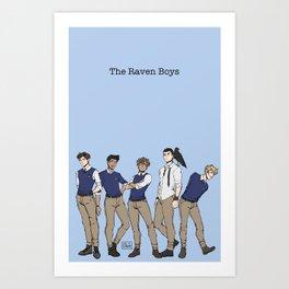 Bird Boys Art Print