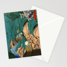 Mushroom Gatherers Stationery Cards