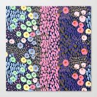 bubble Canvas Prints featuring Bubble by moniquilla