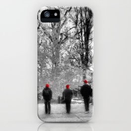 Salt Lake City - Red Hats iPhone Case