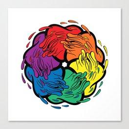 Pride Love Movement Canvas Print