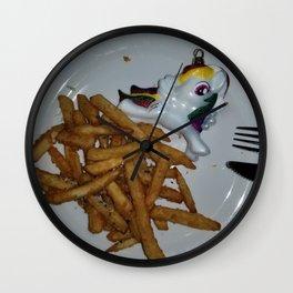 Healthy Meal Wall Clock