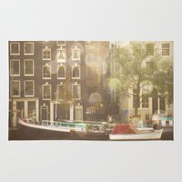 amsterdam Area & Throw Rugs featuring Amsterdam by Cassia Beck