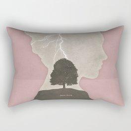 Charlotte Brontë Jane Eyre - Minimalist literary design Rectangular Pillow