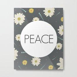 Peace - One Little Word Metal Print