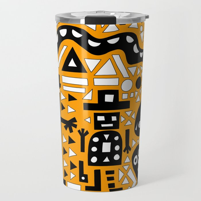 2D Garden (Bumble Bee Edition) Travel Mug