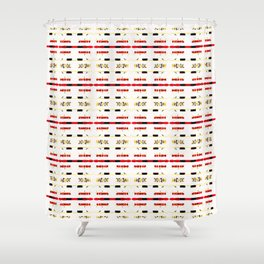Egy C Shower Curtain