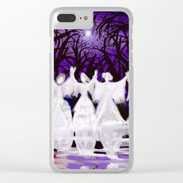 Midnight Prayers for the Living Sisters Clear iPhone Case