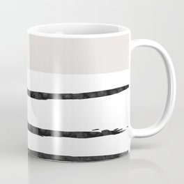 Mineral Taupe | Modern Watercolor Coffee Mug