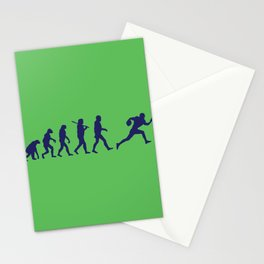 Evolution football Stationery Cards