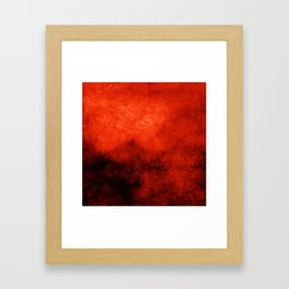 Abstract Cave XI Framed Art Print