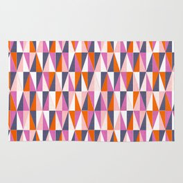 a harlequin party in pink! Rug