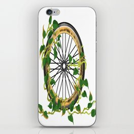 Ride On Ivy iPhone Skin