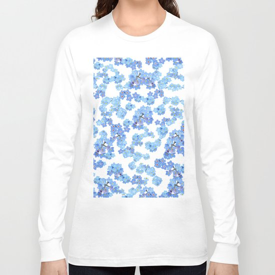 Forget me not I Long Sleeve T-shirt