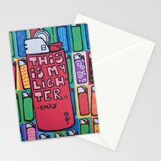 this is my lighter Stationery Cards