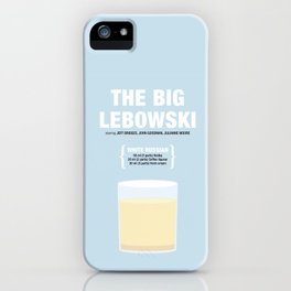 THE BIG LEBOWSKI _MOVIE COCKTAIL_ Coen Brothers iPhone Case