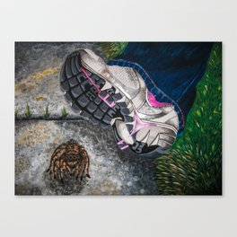Whoops Canvas Print