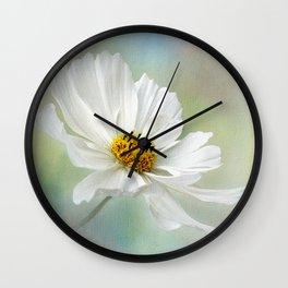 Cosmos Pastel by Kaye Menner Wall Clock