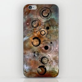 Doctor Who Geronimo Gallifrey with the Carina Nebula  iPhone Skin