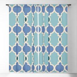 Hollywood Regency Trellis Pattern 633 Blackout Curtain