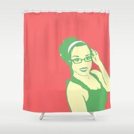 self portrait 2 Shower Curtain