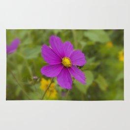 Purple Wildflower Rug