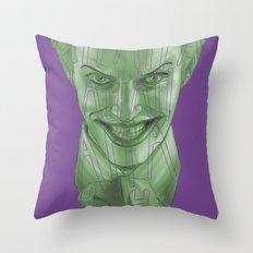 The Joker (Color Variant) Throw Pillow