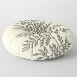 Naturalist Fern Floor Pillow