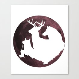 Moony, Wormtail, Paddfoot, and Prongs Canvas Print