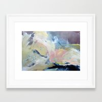 Framed Art Prints featuring 0 9 4  by Jennifer Gauthier