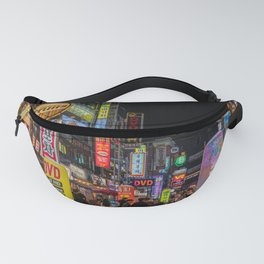 South Korea Photography - Down Town In South Korean City Fanny Pack