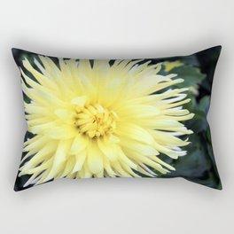 The Yellow Dahlias Rectangular Pillow