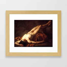 Hector by Jacques-Louis David Framed Art Print
