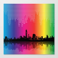 Urban Rhythm Canvas Print