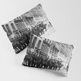 Mounted Police Of New York City - Circa 1905 Pillow Sham