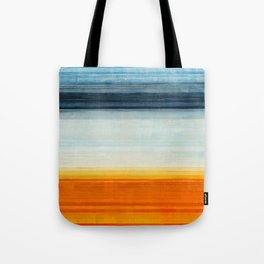 Yellowstone Orange Tote Bag