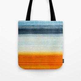 Yellowstone Orange Tote Bag