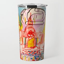 Ayutthaya in Thailand Travel Mug